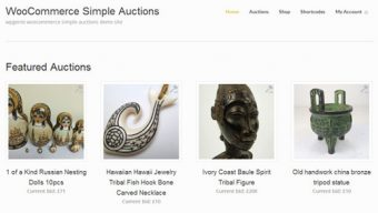 Simple Auctions