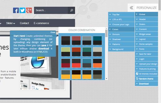 Mit dem WPThemeGenerator von ThemeShock WordPress Themes erstellen