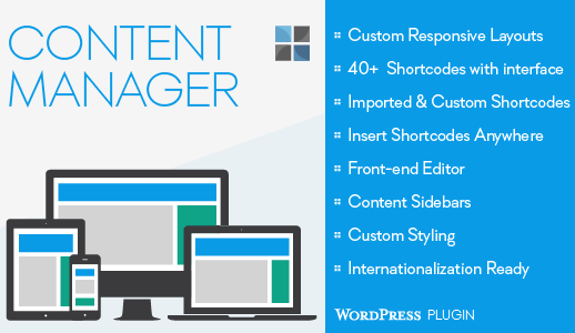 Content Manager für WordPress