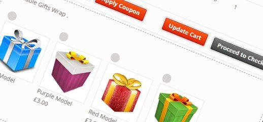 WooCommerce Gift Wrap Order für WordPress