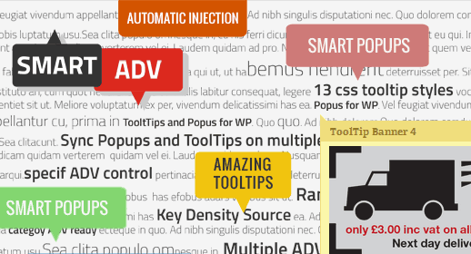 SmartADV: Tooltips, Banners and Popups for WP