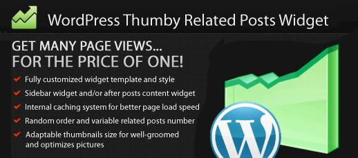 Thumby Related Posts Widget für WordPress