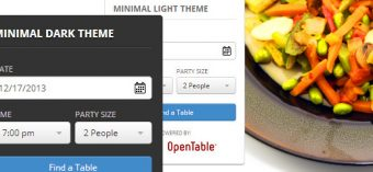 WP Open Table Widget