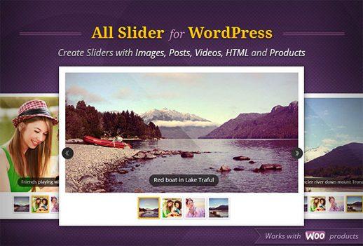 AllSlider: Responsive Slider Carousel WordPress Plugin – WP Ezine