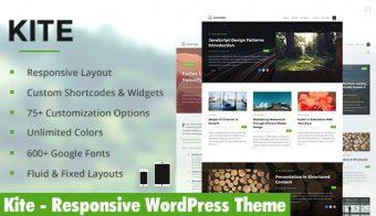 Kite WordPress Theme