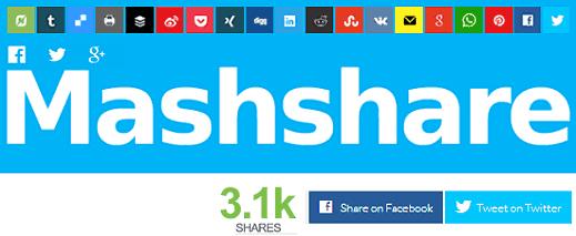 Share Button Mashshare WordPress Plugin