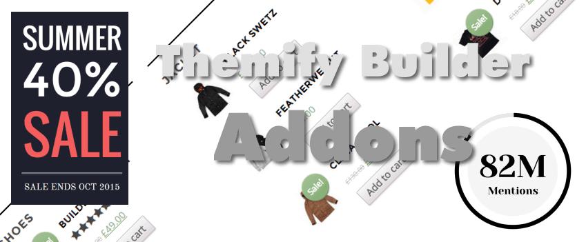 Neue Addons für den @Themify Builder