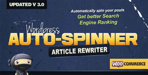 WordPress Auto Spinner – Articles Rewriter