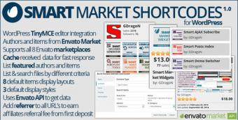 Smart Market Shortcode