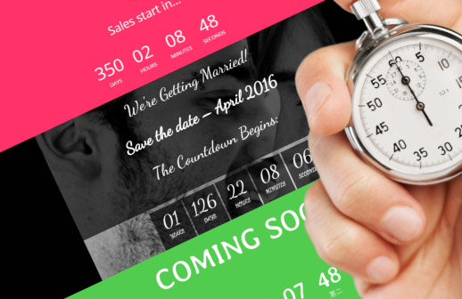Countdown Addon für Themify Drag and Drop Theme Builder