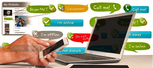 Skype Online Status WordPress Plugin