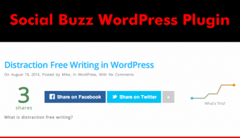 Social Buzz WordPress