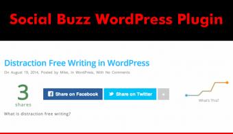 Social Buzz WordPress