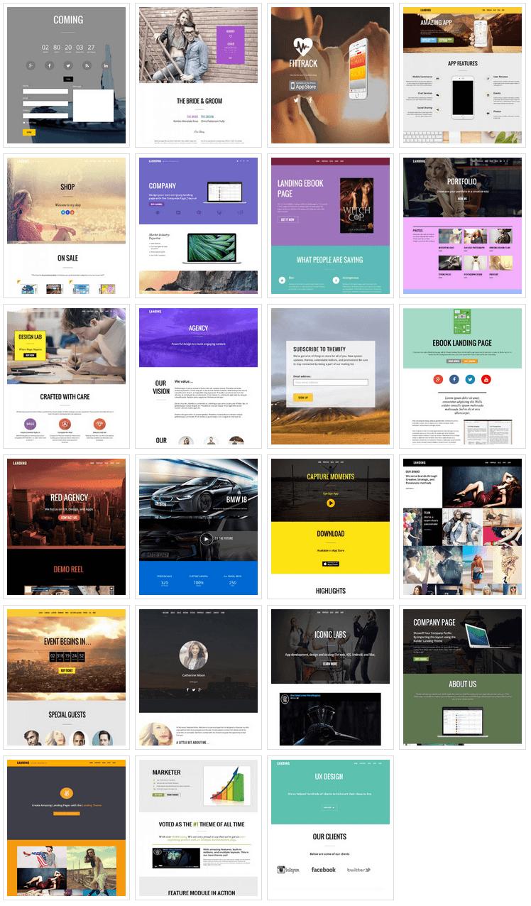 Landing Page Samples