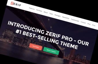 Zerif WordPress Theme Head