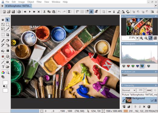 Hornil StylePix: Kostenlose leistungsfähige Bildbearbeitung für Windows