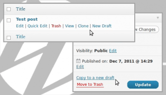 wordpress post cloning