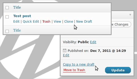 wordpress post cloning