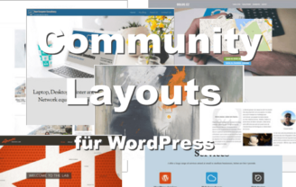Community Layouts für WordPress von Themify