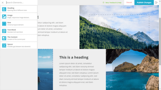 Forge – Front-End Page Builder für WordPress